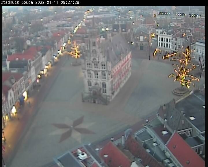 Webcam stadhuis Gouda